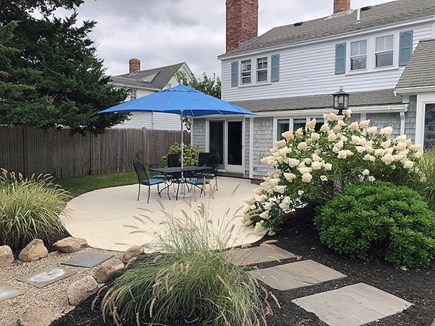 Harwichport Cape Cod vacation rental - Professionally Landscaped Gardens Surround the Back Yard Patio