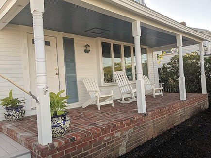 Harwichport Cape Cod vacation rental - The Front Porch is the Perfect Spot to Watch the World Go By