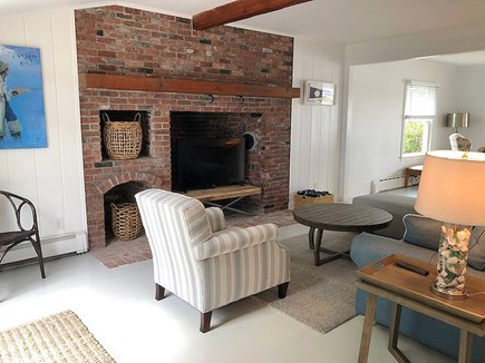 Harwichport Cape Cod vacation rental - Beautiful Brick Detail Contrasts Nicely with the Coastal Decor