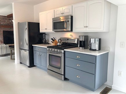 Harwichport Cape Cod vacation rental - The Recently Updated Kitchen has Plenty of Space & Natural Light