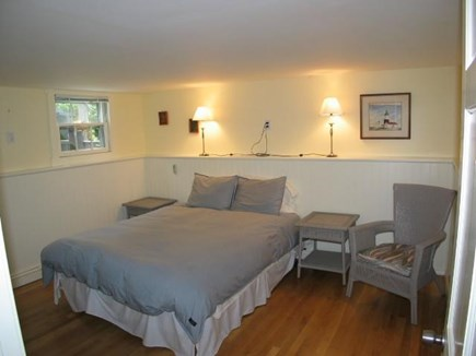 Provincetown Cape Cod vacation rental - Bedroom #3 queen size bed and TV