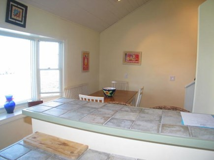 Provincetown Cape Cod vacation rental - Dining area The table seats up to 8  people