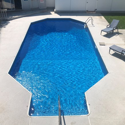 Bourne Cape Cod vacation rental - Pool dimensions