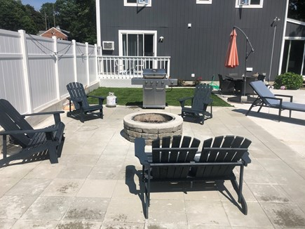 Bourne Cape Cod vacation rental - Relaxing Fire pit
