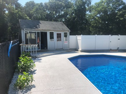 Bourne Cape Cod vacation rental - Pool house