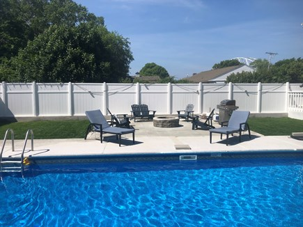 Bourne Cape Cod vacation rental - Fenced in yard