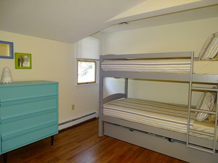 East Falmouth Waterfront Cape Cod vacation rental - Bunk bedroom