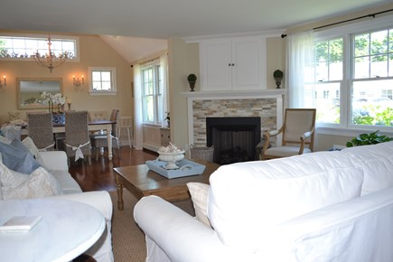 Falmouth Cape Cod vacation rental - Open living, dining room