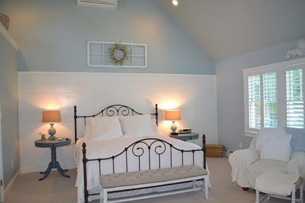 Falmouth Cape Cod vacation rental - Master bedroom (first floor)