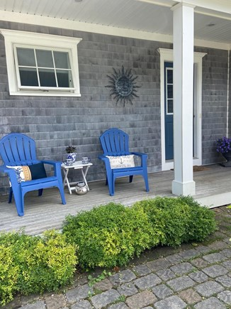 Falmouth Cape Cod vacation rental - Front porch- Perfect spot for morning coffee