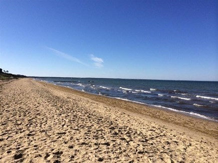 Eastham Cape Cod vacation rental - Beach at end of Gile Rd at mid tide