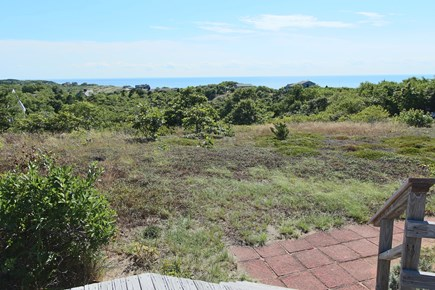 Truro Cape Cod vacation rental - View of Cape Cod Bay and walk to Private Neighborhood Beach.