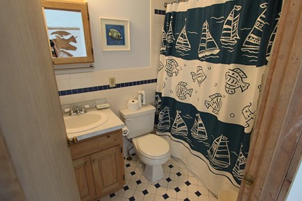 Truro Cape Cod vacation rental - 2 Full bathrooms. This one featured is Tub & Shower.