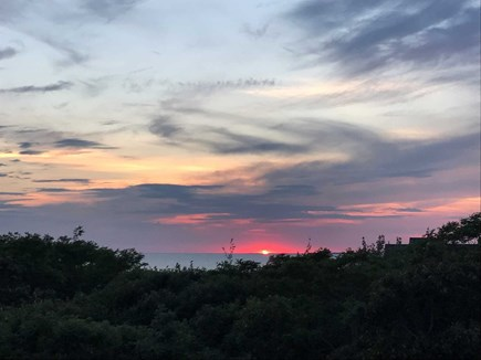 Truro Cape Cod vacation rental - Beautiful Sunsets right from your Deck!