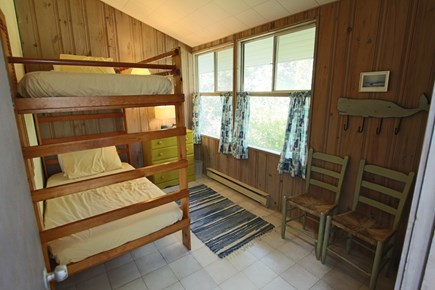 Truro Cape Cod vacation rental - Bedroom #4 with Twin Bunks.