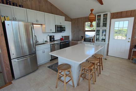 Truro Cape Cod vacation rental - Updated Kitchen.