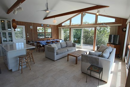 Truro Cape Cod vacation rental - Open Living-Kitchen-Dining Area