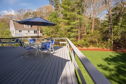 Brights Cove New Seabury New Seabury vacation rental - Wrap around deck