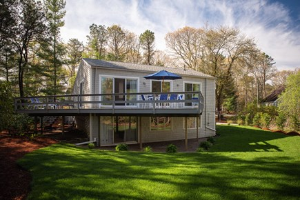 Brights Cove New Seabury New Seabury vacation rental - Large back yard