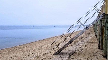Truro Cape Cod vacation rental - Step down to the beach