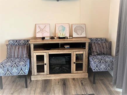 Truro Cape Cod vacation rental - Electric Fireplace