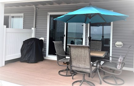Truro Cape Cod vacation rental - Relaxing Dining on Private Deck