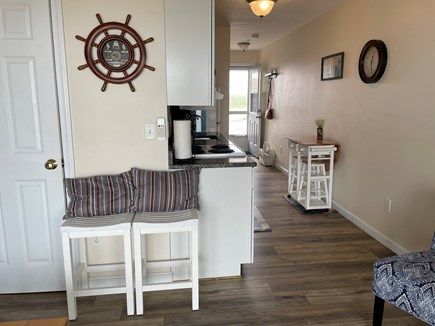 Truro Cape Cod vacation rental - Kitchen view from living room