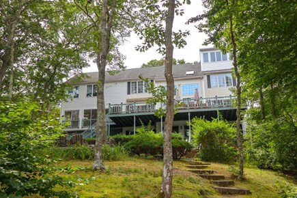 Brewster Cape Cod vacation rental - Back of the house from the beach