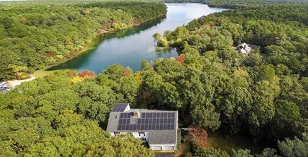 Brewster Cape Cod vacation rental - From above...