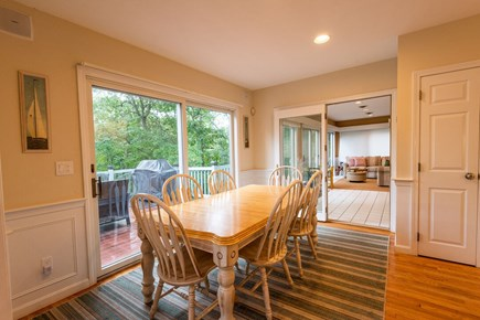 Brewster Cape Cod vacation rental - Kitchen dining area