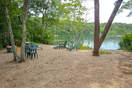 Brewster Cape Cod vacation rental - Over 50 feet of private beach