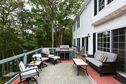 Brewster Cape Cod vacation rental - Back deck