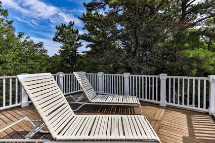 Truro Cape Cod vacation rental - Master Bedroom Deck