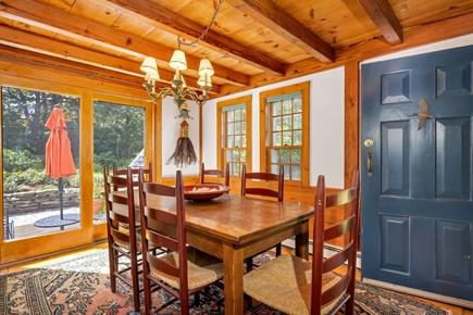 Truro Cape Cod vacation rental - Alternate Dining Overlooks the Gardens