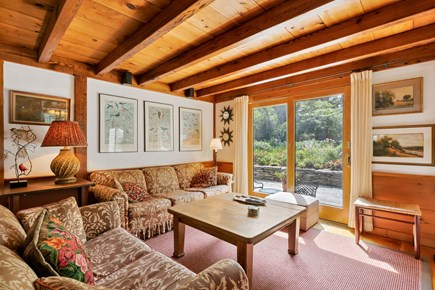 Truro Cape Cod vacation rental - Second Living Room Opens to the Deck