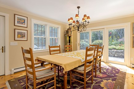 Truro Cape Cod vacation rental - Dining Room Leads to Deck and Screen Porch