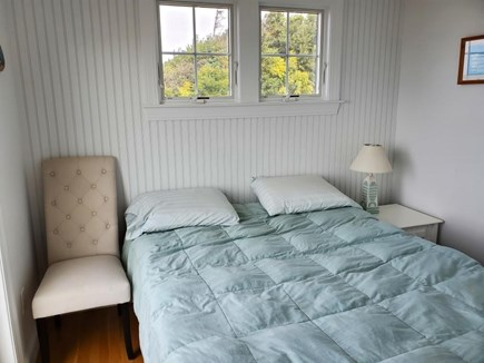 North Eastham Cape Cod vacation rental - Bedroom #2, slider to deck