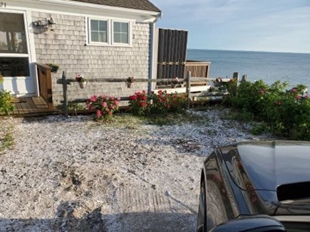 North Eastham Cape Cod vacation rental - White shell driveway