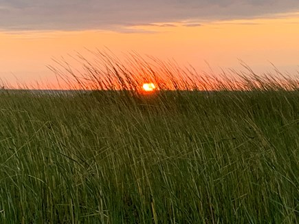 Brewster Cape Cod vacation rental - Another gorgeous day and sunset at the beach.