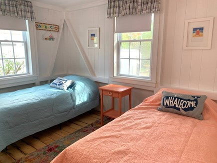Brewster Cape Cod vacation rental - Two brand new twin beds, new dresser and lights.