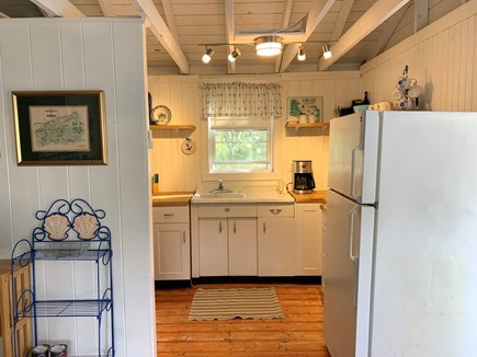 Brewster Cape Cod vacation rental - Clean and cute kitchen. All new small appliances and utensils.
