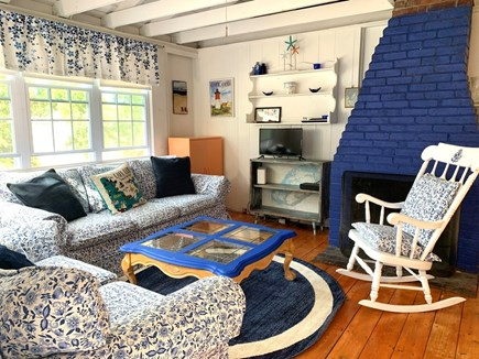 Brewster Cape Cod vacation rental - Comfortable sofas, new Fire TV, great games and books.