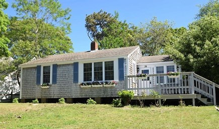 Brewster Cape Cod vacation rental - Front of the Sea View Cottage