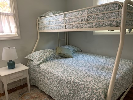 Brewster Cape Cod vacation rental - Third bedroom with bunkbed.