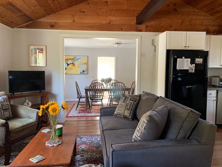 Brewster Cape Cod vacation rental - Sunny living room