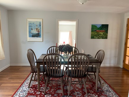 Brewster Cape Cod vacation rental - Great working space in dining room!