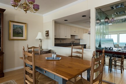 Harwich, Oceanfront Condo Cape Cod vacation rental - Dining and Kitchen