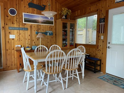 Brewster Cape Cod vacation rental - Dining Area Provides Seating for 6