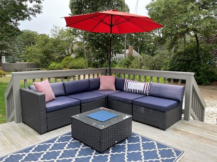 Brewster Cape Cod vacation rental - Front Porch with Outdoor Sofa Set