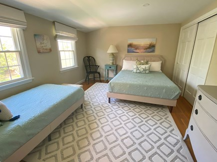 Harwich Cape Cod vacation rental - Second-floor bedroom with queen and twin